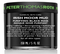 Peter Thomas Roth Irish Moor Mud Purifying Black Mask $107 7 Purifying masks for smaller pores