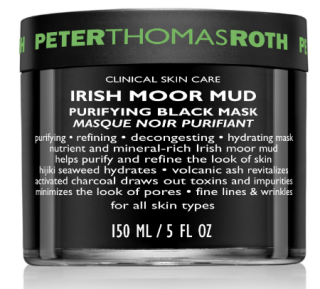 Peter Thomas Roth Irish Moor Mud Purifying Black Mask $107 7 Purifying masks for smaller pores.png